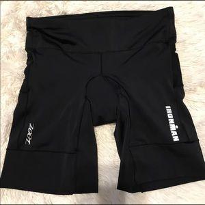 Zoot Ironman triathlete/cycling shorts